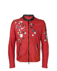 Giorgio Brato Pin Leather Jacket 40b89bb8776da