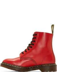 ... Dr. Martens Red 8 Eye Pascal Boots ... 32e7c9943