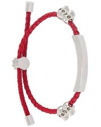 Alexander McQueen Braided Bracelet
