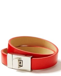 Banana Republic Colored Leather Wrap Bracelet