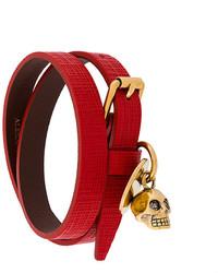 Double wrap skull bracelet medium 3994210