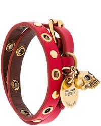 Double wrap skull bracelet medium 5275940