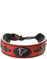 Gamewear Atlanta Falcons Leather Football Bracelet