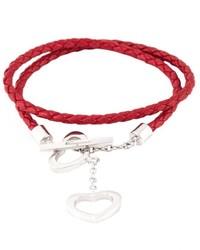 Salvatore Ferragamo Heart Charm Bracelet