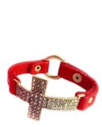 Leather Cross Bracelets