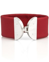 Michele Mercaldo Jewelry Half Moon Leather Bracelet