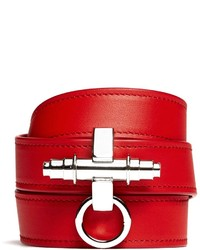 Givenchy Obsedia Triple Wrap Leather Bracelet