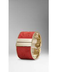 Burberry Ostrich Leather Cuff