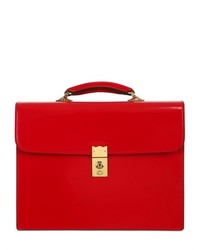 Cordovan Leather Briefcase