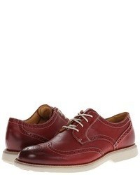 Red Leather Brogues