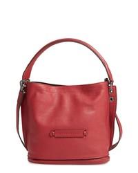 Longchamp 3d Leather Bucket Bag