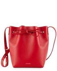 Calf leather mini mini bucket bag medium 3745804