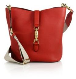 66d4e7a5846 ... Gucci Jackie Soft Leather Bucket Bag ...