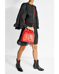 Henry Beguelin Leather Bucket Bag