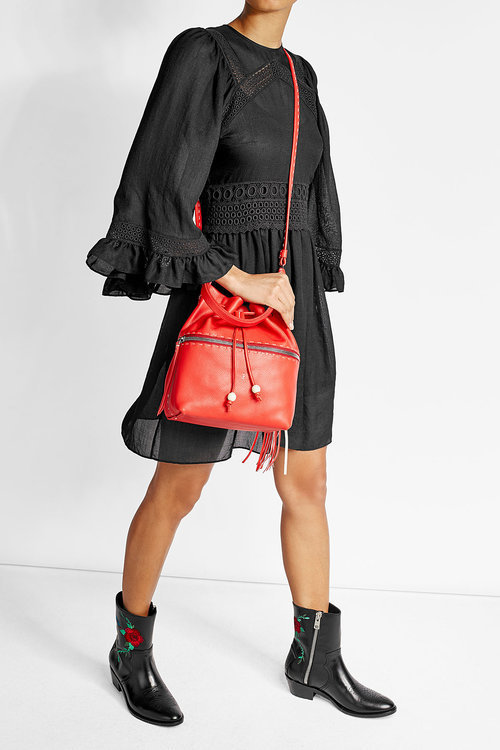 Henry Beguelin Leather Bucket Bag