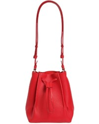 Maison Margiela Small Leather Bucket Bag