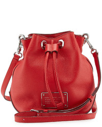 Marc by Marc Jacobs New Too Hot To Handle Bucket Bag Cambridge Red