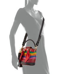 ... Salvatore Ferragamo Sara Small Bucket Bag Rosso ... db21c95d24ca7