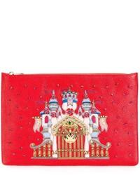 Dolce & Gabbana Castle Patch Clutch