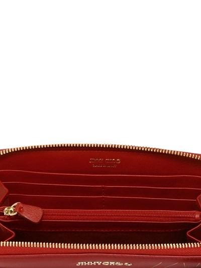d49432a8ab4 Jimmy Choo Filipa Nappa Leather Clutch, $695   LUISAVIAROMA   Lookastic.com