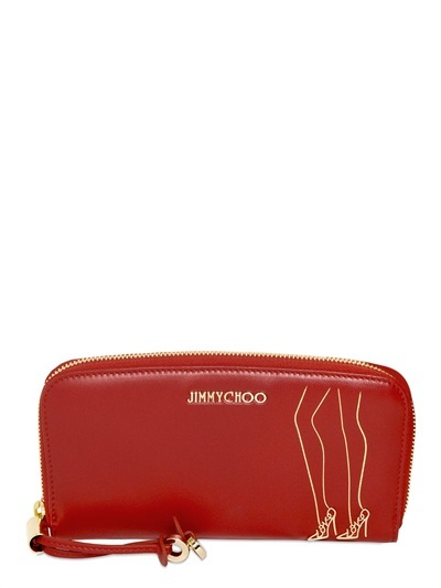 4cc171d1c95 ... Red Leather Clutches Jimmy Choo Filipa Nappa Leather Clutch ...