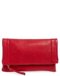 Marlena faux leather foldover clutch medium 577560