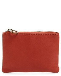 Madewell Small Leather Pouch