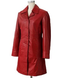 Excelled Leather Walker Coat