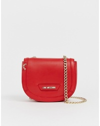 Love Moschino Across Body Bag With Gold