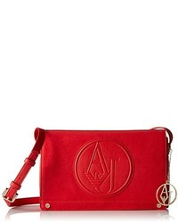 Armani Jeans Eco Leather Logo Crossbody