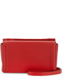 Rag & Bone Aston Leather Mini Crossbody Bag Red