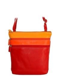 Belarno Medium Crossbody Bag Color Red