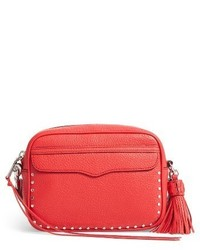 Rebecca Minkoff Bryn Leather Camera Bag White
