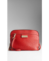Burberry Small Signature Grain Leather Crossbody Bag