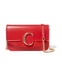 Chloé C Mini Med Leather Shoulder Bag