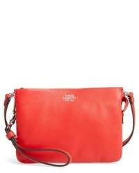 Vince Camuto Cami Leather Crossbody Bag Red