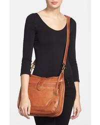 Frye Campus Leather Crossbody Bag Brown