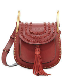 Chloé Chloe Hudson Mini Leather Saddle Bag