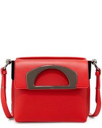Christian Louboutin Mini Passage Leather Crossbody Bag Red