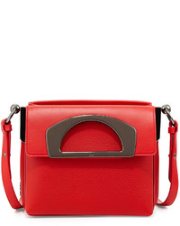 Christian Louboutin Mini Passage Leather Crossbody Bag Red