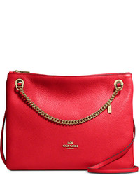 Coach Convertible Crossbody In Pebble Leather