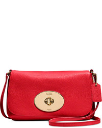 Coach Liv Crossbody In Pebble Leather
