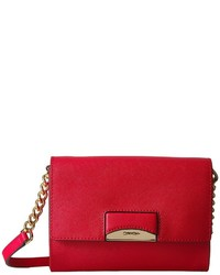 Calvin Klein Connie Saffiano Crossbody Cross Body Handbags