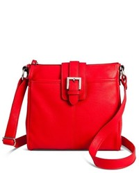 Merona Crossbody Faux Leather Handbag