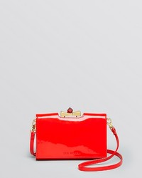 Ted Baker Crossbody Patent Square Crystal