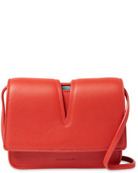 Jil Sander Cut Out Mini Leather Crossbody