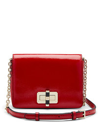 Diane von Furstenberg 440 Gallery Bellini Patent Leather Crossbody Bag