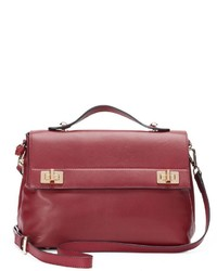 Donna Bella Audrey Leather Crossbody Bag