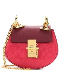 Chloé Drew Nano Leather Crossbody Bag