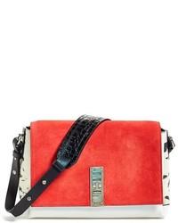 Proenza Schouler Elliot Colorblock Leather Crossbody Bag